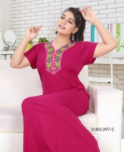 Trendy FT 397 Cotton Night Suits ( 6 Pcs Catalog )
