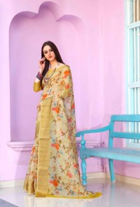 Shangrila Kadambari Linen Vol-2 Saree ( 12 Pcs Catalog )