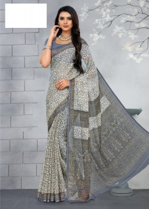 TFH Ruchi Chiffon Saree ( 12 Pcs Catalog )