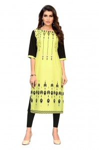 CT-15 Digital Printed Crepe Kurtis ( 5 Pcs catalog )