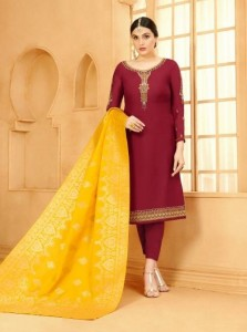 Your choice Banarasi vol-4 Dress Material (6 pcs catalog )