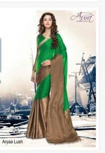 Aura Aarya Cotton Silk Saree ( 6 pc Catalog )