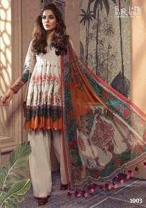 Mumtaz Arts Fair Lady M Print NX Dress Material ( 3 Pcs Catalog )