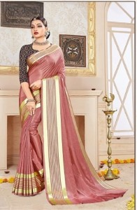 Bansi 1St Choice Silk Saree ( 10 Pcs Catalog )