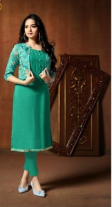 Neha Fashion Rumani Kurti With Jacket (7 Pcs Catalog )