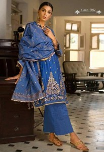 Kaara Sanam Saeed Dress Material