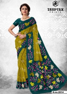 Deeptex Batik Queen vol-2 Cotton Sarees (20 pc set )