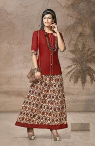 Kinti Rang Tarang Vol-10 Kurti With Skirt ( 10 Pcs Catalog )