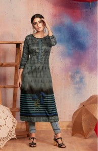 Kalaroop Dark Fantasy Vol-6 Kurti ( 12 Pcs Catalog )