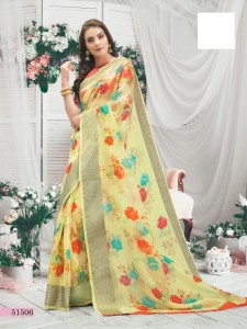 Shangrila Orgenza Vol-2 Saree (12 Pcs Catalog )