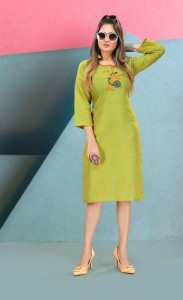 SS Kurties Mahek Vol-4 Cotton Kurti ( 12 Pcs Catalog )