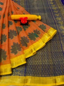 Myra Semi Cotton sarees ( 12 pcs catalog )