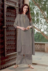 STF Silk Sansaar Kurti Plazo Pant With Dupatta ( 6 Pcs Catalog )