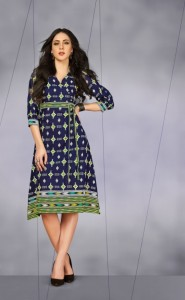 Vitara Fashion Crysta Handloom Kurti ( 6 Pcs Catalog )