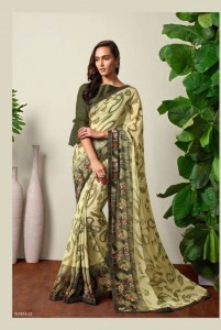 Sahiba Eltiza Georgette Saree (16 Pcs Catalog )