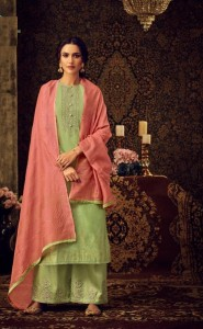 Karva Designer Naysha Dress Material ( 6 pcs catalog )