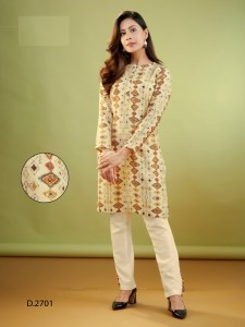 Indira Apparel Sharad Cotton Kurti And Bottom ( 8 Pcs Catalog )