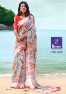 Shangrila New Kanchana Vol-21 Sarees ( 12 Pcs Catalog )