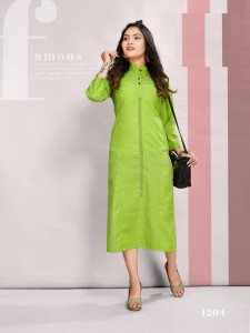 Tunic House Peace Cotton Kurtis ( 9 Pcs Catalog )