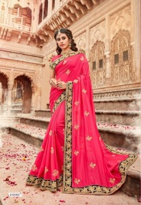 Saroj Karuna Silk Sarees ( 6 pc catalog)