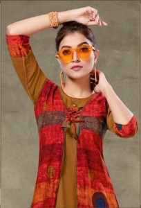 Kinti Prakruti Vol-10 Rayon Kurtis (10 pc catalog)