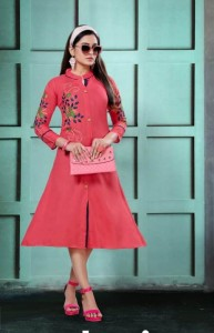 Kinti Colour Bar Vol-2 Kurtis ( 10 Pcs Catalog )