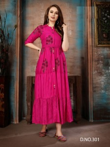 Fashion Talk Urmila Vol-3 Rayon Kurtis ( 10 Pcs Catalog )