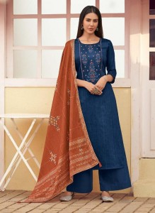 Deepsy Panghat Vol-7 Dress Material ( 8 Pcs Catalog )
