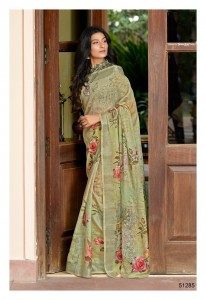 Shangrila Digital Linen Vol-3 Saree (12 Pcs Catalog )