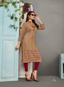 Karissa Rich Girl-3 Rayon Kurtis ( 8 Pcs Catalog )