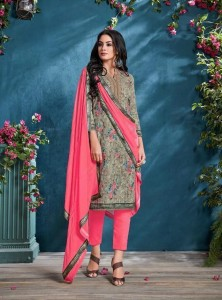 Vipul Petals Dress Material (9 pc catalog)