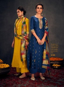 Jay Vijay Aloha Vol-2 Dress Material ( 11 Pcs Catalog )