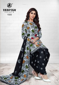 Deeptex Pichkari Vol-15 Dress Material ( 10 Pcs Catalog )