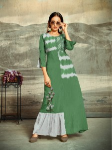 Sitka Marvel Cotton Kurti (4 Pcs Catalog )