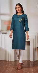 Kirara Sui DhaagaVol-3 Cotton Kurtis ( 8 Pc Catalog )