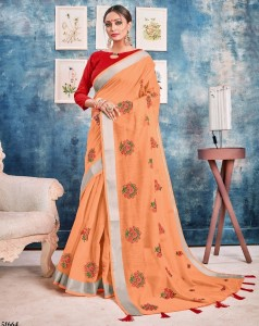 Shangrila Madhumati Linen Vol-2 Saree ( 6 Pcs Catalog )