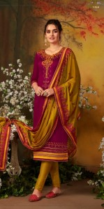 Kessi Odhani Jam Silk Suit with Chinon Dupatta (8 Pcs Cataloge)