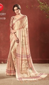Apple Flowery Vol-3 Premium Crep Saree (10 pcs Catalog)