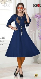 KS4U Era Rayon  Kurtis ( 6 Pcs Catalog )