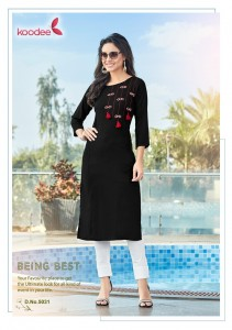 Koodee Pahal Vol-5 Hand Work Kurti ( 6 Pcs Catalog )