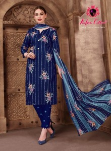 Nafisa Cotton Sehnaz Vol-2 Dress Material ( 10 Pcs Catalog )