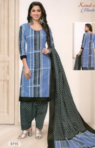 Komal Arts Khushi Cotton Dress Material  (16 Pc Catalog)