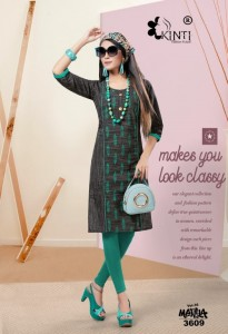 Kinti Manya Vol-36 Handloom Cotton Kurti ( 10 Pcs Catalog )