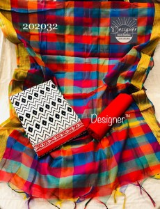 Cotton Top Dress Material (5Pc Set)