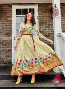 Kajal Style Season Vol-4 Kurtis ( 2 Pc Catalog)