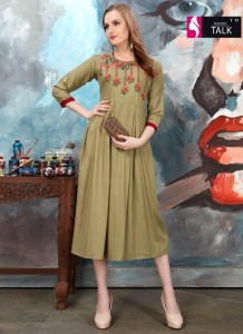 Fashion Talk Alankar Vol-2 Kurtis ( 10 Pcs Catalog )