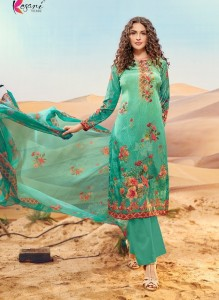 Kesari Trendz Amira Vol-3 Dress Material ( 8 Pcs Catalog )