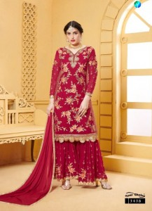 Your Choice Preet Georgette Sharara Dress Material ( 4 Pcs Catalog )