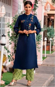 Psyna Preet Vol-6 Handwork Kurti With Pants ( 10 Pcs Catalog )