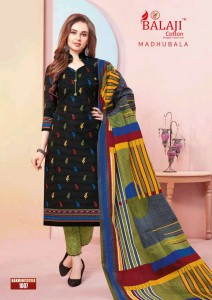 Balaji Cotton Madhubala Cotton Dress Material ( 16 Pcs Catalog )